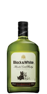 Whisky Black & White 375 ml
