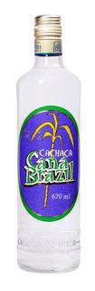 Cachaça Cana Brazil Prata 670 ml