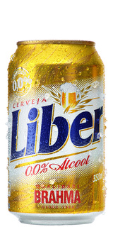 Cerveja Liber Sem Álcool Lata 350 ml