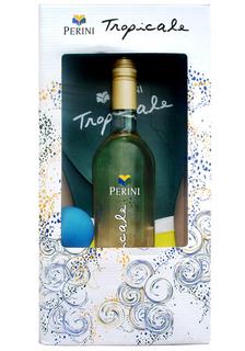 Vinho Tropicale Frisante Branco 750 ml com Kit Frescobol (Kits)