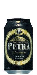 Cerveja Petra Lata  Premium Escura 350 ml