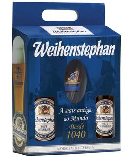 Cerveja Weihenstephan 500 ml com 02unids. e 01 Copo (Kits)