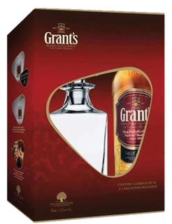 Whisky Grant's 1 L com Decanter (Kits)