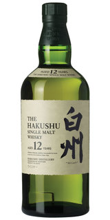 Whisky Hakushu Single Malt 12 anos 700 ml