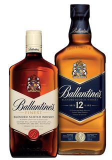 Combo Whisky Ballantine's com 01unid. Finest e 01unid. 12 Anos