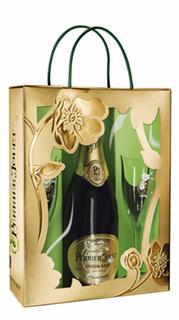 Champagne Perrier Jouet Grand Brut 750 ml com 02 Taças (Kits)