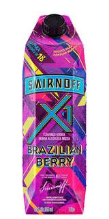 Vodka Smirnoff X1 Brazilian Berry 1L