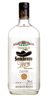 Tequila Sombrero 100% Agave Silver 700 ml