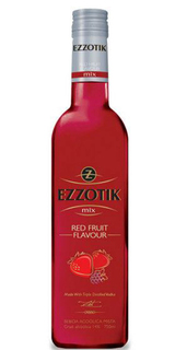 Cocktail Ezzotik Mix Red Fruit 750 ml