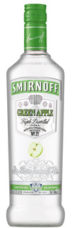 Vodka Smirnoff Flavor Green Apple 600 ml
