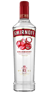 Vodka Smirnoff Flavor Cranberry 998 ml