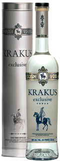 Vodka Krakus Exclusive 750 ml com Lata