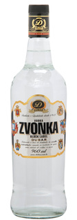 Vodka Zvonka Black Label Dubar 960 ml