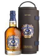 Whisky Chivas 18 anos 1750 ml com Canister de Couro(Kits)