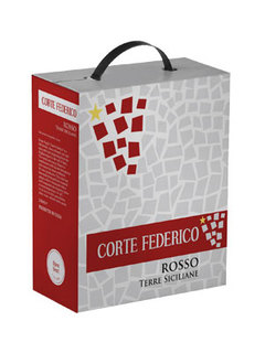 Vinho Corte Federico Rosso Bag In Box  3 L
