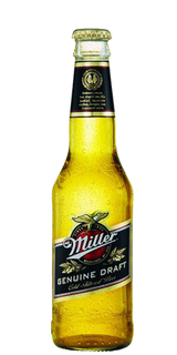 Cerveja Miller Genuine Draft Long Neck 355 ml