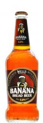 Cerveja Wells Banana Bread 500 ml