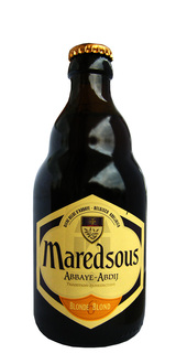 Cerveja Maredsous Blonde 6 Blond Clara Long Neck 330 ml