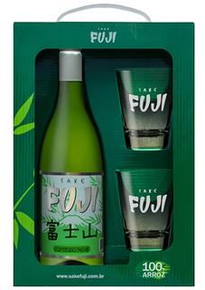 Sake Fuji 750 ml com 02 Copos (Kits)
