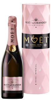 Champagne Moët Rosé Impérial Chill Box 750 ml