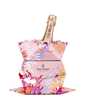 Champagne Veuve Clicquot Clicq Up Rose com Balde 750 ml (Kits)