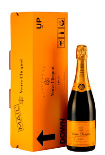Champagne Veuve Clicquot Brut Express 750 ml (Kit)