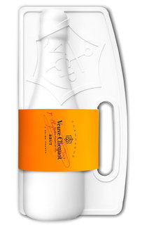 Champagne Veuve Clicquot Brut Naturally 750 ml (Kit)