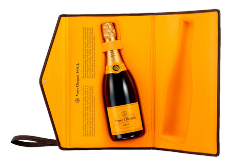 Champagne Veuve Clicquot Brut Clutch 750 ml (Kit)