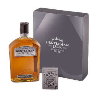 Kit Whiskey Gentleman Jack com Baralho 1L