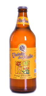 Cerveja Quinta do Malte Rubra Orange 600ml