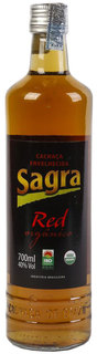 Cachaça Sagra Red Orgânica 700 ml