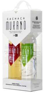 Cachaça Murano com 2 Garrafas 500ml (Kits)