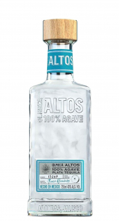 Tequila Altos Plata 100% Agave 750ml