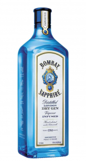 Gin Bombay Sapphire London Dry 1,75L