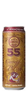 Cerveja Germânia 55 Pilsen Lata 355 ml