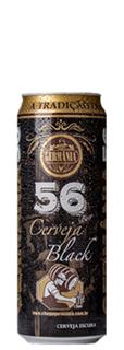 Cerveja Germânia 56 Black Lata 356 ml