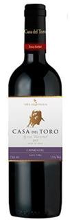Vinho Casa Del Toro Carmenere 750 ml