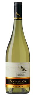 Vinho Santa Alicia Reserva Chardonnay 750 ml