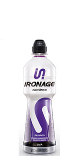 Isotônico Ironage Uva 500 ml