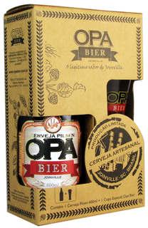 Cerveja Opa Bier Pilsen 600 ml com Copo (Kits)