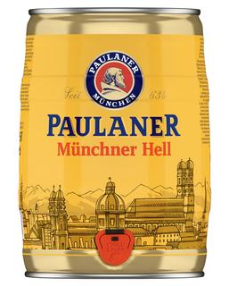 Cerveja Paulaner Munchner Hell Barril 5 L
