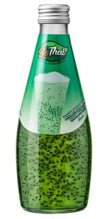 BeThai Basil Seed Drink Menta 290ml (Bebida de Semente de Manjericão)