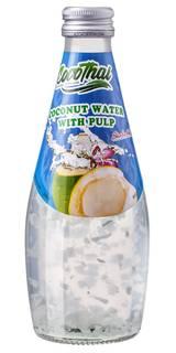 CocoThai Coconut Water with Pulp 290ml (Água de Coco com Pedaços de Coco)