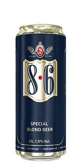 Cerveja 8.6 Blond Lata 500 ml