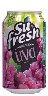 Néctar de Uva Sufresh Lata 330ml