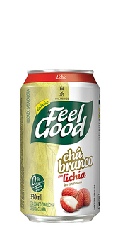 Chá Branco Feel Good com Lichia Lata 330 ml