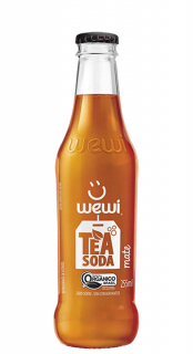 Wewi Tea Soda Mate Orgânico 255ml