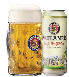 Cerveja Paulaner Lata 1 L com 01 Caneca (Kits)