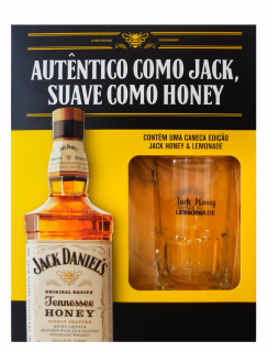 Jack Daniel's Honey 1L com 1 Caneca (Kits)