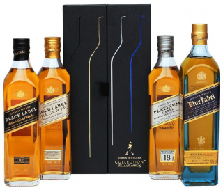 Whisky Johnnie Walker Collection 4 Garrafas 200ml